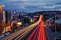 Lanes of Light on Aurora Avenue