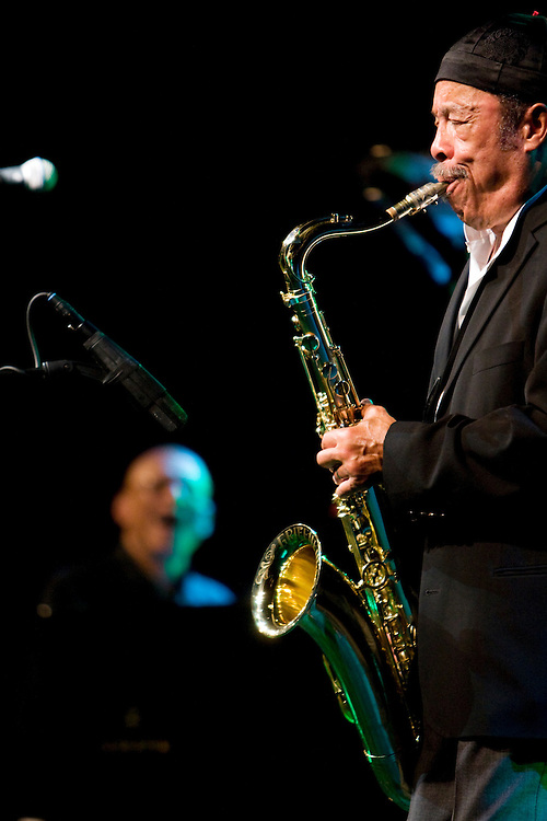 Nederland. Rotterdam, 14 juli 2007.<br /> North Sea Jazz festival. Johnny Griffin.<br /> Foto Martijn Beekman <br /> NIET VOOR TROUW, AD, TELEGRAAF, NRC EN HET PAROOL