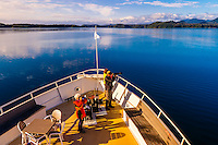 Wilderness Explorer ship, Krestof Sound,  Inside Passage, Southeast Alaska USA.