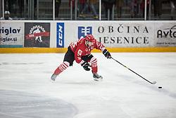 CEPON Kristjan during Alps League Ice Hockey match between HDD SIJ Jesenice and HK SZ Olimpija on December 20, 2019 in Ice Arena Podmezakla, Jesenice, Slovenia. Photo by Peter Podobnik / Sportida