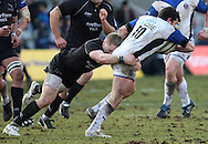 Newcastle - Sunday, March 7th, 2010: Ryan Davis of Bath Rugby during the Guinness Premiership match at Newcastle. (Pic by Steven Hadlow/Focus Images)