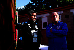 Huddersfield Town manager David Wagner and Accrington Stanley manager John Coleman - Mandatory by-line: Robbie Stephenson/JMP - 12/07/2017 - FOOTBALL - Wham Stadium - Accrington, England - Accrington Stanley v Huddersfield Town - Pre-season friendly