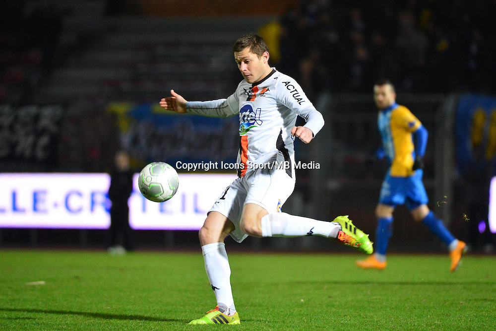 Malik COUTURIER - 23.01.2015 - Creteil / Laval - 21eme journee de Ligue 2<br /> Photo : Dave Winter / Icon Sport