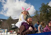 Gunstock's end of season B.Y.O.D.C. event on Easter Sunday.  Karen Bobotas for the Laconia Daily Sun