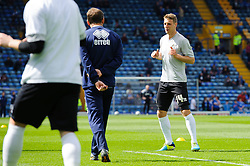 Lee Brown (ENG) of Bristol Rovers warms up before the match - Photo mandatory by-line: Rogan Thomson/JMP - 07966 386802 - 19/04/2014 - SPORT - FOOTBALL - Fratton Park, Portsmouth - Portsmouth FC v Bristol Rovers - Sky Bet Football League 2.