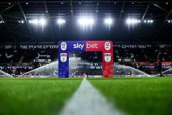 A general view of Liberty Stadium and Sky Bet Branding prior to kick off - Mandatory by-line: Ryan Hiscott/JMP - 29/11/2019 - FOOTBALL - Liberty Stadium - Swansea, England - Swansea City v Fulham - Sky Bet Championship