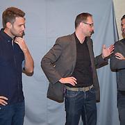 NLD/Volendam/20131126 - Onthulling kerstnummer 100% NL, Nick & Simon, Nick Schilder en Simon Keizer