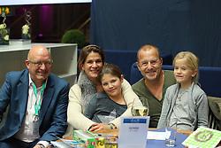 Wulff Volker, Ferch Marie Jeanette, Ferch Heino<br /> Preis von JJ Darboten Jumping München 2015<br /> © Hippo Foto - Stefan Lafrentz