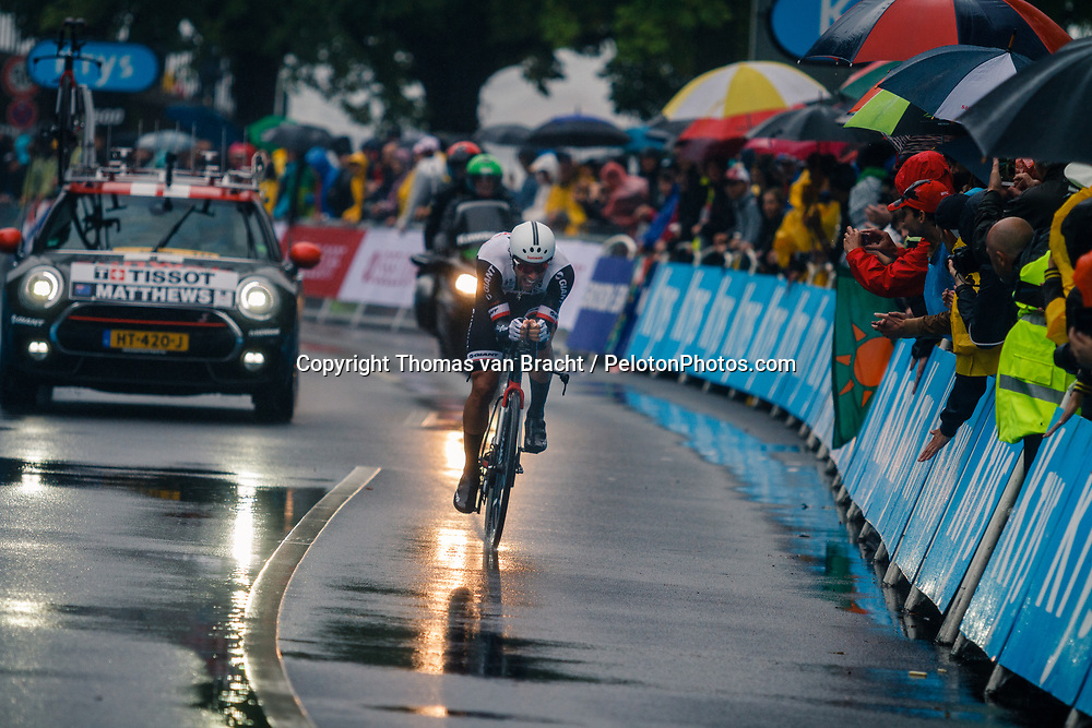 Stage 1 (ITT) from Düsseldorf to Düsseldorf of the 104th Tour de France, Düsseldorf, Germany, 1 July 2017. Photo by Thomas van Bracht / PelotonPhotos.com | All photos usage must carry mandatory copyright credit (Peloton Photos | Thomas van Bracht)