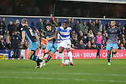 Queens Park Rangers midfielder Jay Emmanuel-Thomas during the Sky Bet Championship match between Queens Park Rangers and Sheffield Wednesday at the Loftus Road Stadium, London, England on 20 October 2015. Photo by Jemma Phillips.