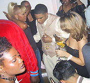 Nelly &amp; Eve <br />Justin Timberlake &amp; Nelly&rsquo;s Post Grammy Party<br />Capitale Nightclub<br />Sunday, February 23, 2003.<br />New York, NY, USA<br />Photo By Celebrityvibe.com/Photovibe.com