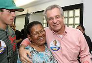 SAO PAULO - 04.08.2012. ANDREA MATARAZZO 45450. O candidato a vereador Andrea Matarazzo, participa reunião com cabos eleitorais. São Paulo, Brasil, agosto 04, 2012. DANIEL GUIMARÃES