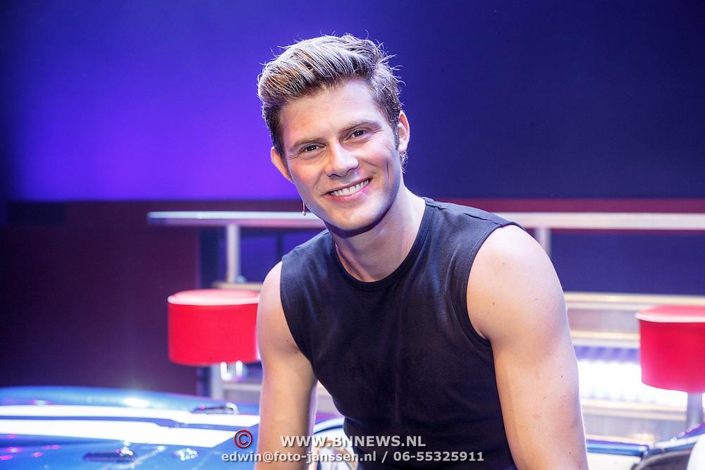 NLD/Tilburg/20150913 - Premiere musical Grease, Tim Douwsma