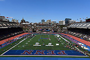 Apr 26, 2018; Philadelphia, PA, USA; General overall view of 124th Penn Relays at Franklin Field.