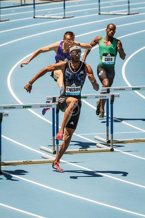 adidas Grand Prix Diamond League Track & Field: Men's 400m Hurdles, Javier Culson,
