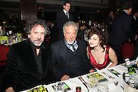 Tim Burton, Tom Jones and Helena Bonham Carter