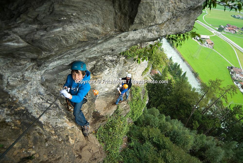 Klettersteig Austria : Via ferrata klettersteigen in zillertal tyrol austria