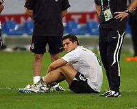 Photo: Chris Ratcliffe.<br /> England v Portugal. Quarter Finals, FIFA World Cup 2006. 01/07/2006.<br /> Frank Lampard of England.