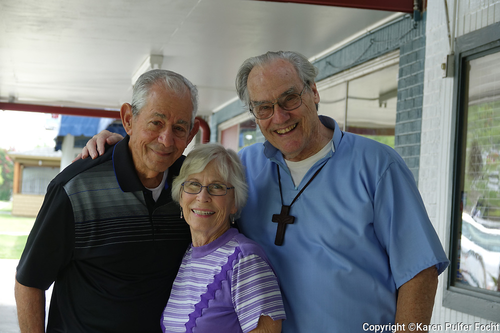 Charlie, age 85, intends to marry Jo Ann, 83. The couple is planning a marraige with their priest age 86.