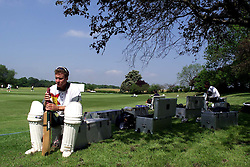 MURRAY GOODWIN..Shenley Cricket Ground, Radlett, Hertfordshire. The Zimbabwe Cricket Team practice for the first test, May 16, 2000. Photo by Andrew Parsons / i-images..