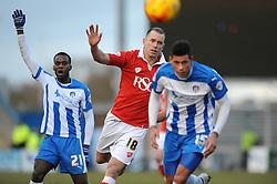 Bristol City's Aaron Wilbraham - Photo mandatory by-line: Dougie Allward/JMP - Mobile: 07966 386802 - 21/02/2015 - SPORT - Football - Colchester - Colchester Community Stadium - Colchester United v Bristol City - Sky Bet League One