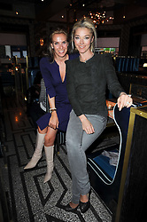 Left to right, ANNABEL SPIRO and TAMARA BECKWITH at a party to celebrate the 1st anniversary of Gift-Library.com held at Bob Bob Ricard, 1 Upper James Street, London on 19th November 2009.