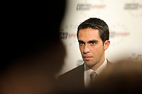 CYCLING - PRESENTATION TOUR DE FRANCE 2013 - PARIS (FRA) - 24/10/2011 - PHOTO JULIEN BIEHLER / DPPI - Alberto Contador (Esp)