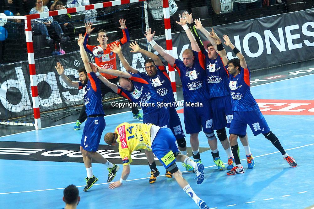 Defense Montpellier - 15.03.2015 - Montpellier / Kielce - 1/8Finale aller Ligue des Champions<br /> Photo : Andre Delon / Icon Sport