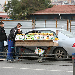 Curbside Service, Europe - Turkey - Istanbul