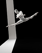 Dancer Nicholas Chen for the Greyscale Project