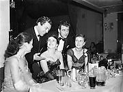 Catholic Stage Guild Ball, Gresham, Personalities Box.20/11/1952