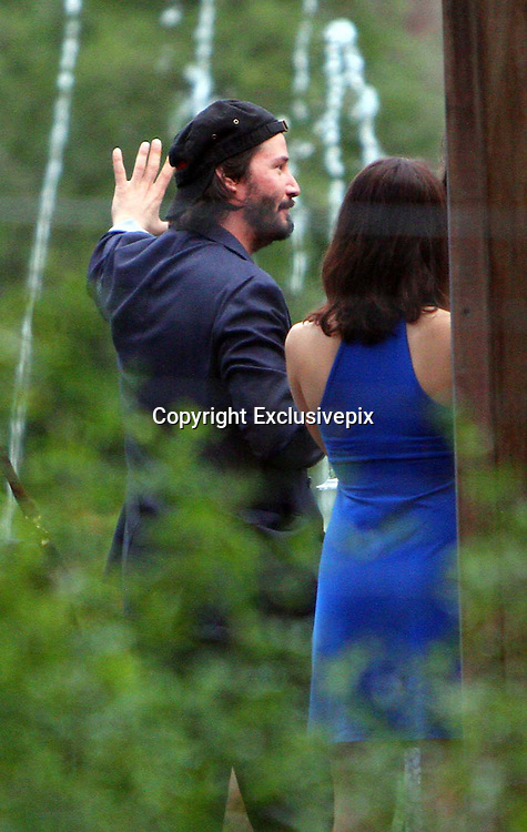*****EXCLUSIVE*****<br /> Punta del Este, Uruguay, 28 January 2014<br /> KEANU REEVES AT FRIENDS BACHELORS PARTY IN URUGUAY<br /> Carl Rinsch and Gabriela Roses organized a bachelors party for their friends at a restaurant in Carrasco, before their wedding.<br /> Actor Keanu Reeves was one of their guests, since he will be attending the wedding of his friends.<br /> &copy;Exclusivepix