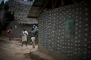 MSF Ebola intervention in remote village. Grand Bassa County, Liberia.