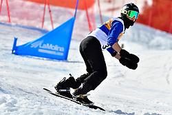 RIVERA Alex, SB-LL2, USA, Snowboard Cross at the WPSB_2019 Para Snowboard World Cup, La Molina, Spain