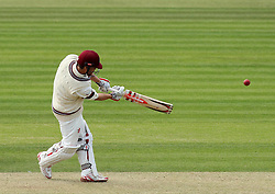 Somerset's James Hildreth hits a six - Photo mandatory by-line: Robbie Stephenson/JMP - Mobile: 07966 386802 - 21/06/2015 - SPORT - Cricket - Southampton - The Ageas Bowl - Hampshire v Somerset - County Championship Division One