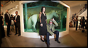 ALI HEWSON; BONO,  Damien Hirst party to preview his exhibition at Sotheby's. New Bond St. London. 12 September 2008 *** Local Caption *** -DO NOT ARCHIVE-&copy; Copyright Photograph by Dafydd Jones. 248 Clapham Rd. London SW9 0PZ. Tel 0207 820 0771. www.dafjones.com.<br /> ALI HEWSON; BONO,  Damien Hirst party to preview his exhibition at Sotheby's. New Bond St. London. 12 September 2008