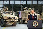 01.MAY.2012. BAGRAM<br /> <br /> PRESIDENT BARACK OBAMA ADDRESSES THE NATION FROM BAGRAM AIR FIELD, AFGHANISTAN, MAY 1, 2012.  <br /> <br /> BYLINE: EDBIMAGEARCHIVE.CO.UK<br /> <br /> *THIS IMAGE IS STRICTLY FOR UK NEWSPAPERS AND MAGAZINES ONLY*<br /> *FOR WORLD WIDE SALES AND WEB USE PLEASE CONTACT EDBIMAGEARCHIVE - 0208 954 5968*