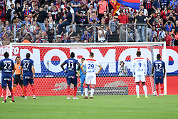 September 15, 2018 - Caen, France - 12 CLAUDIO BEAUVUE (CAEN) - PENALTY - BUT (Credit Image: © Panoramic via ZUMA Press)
