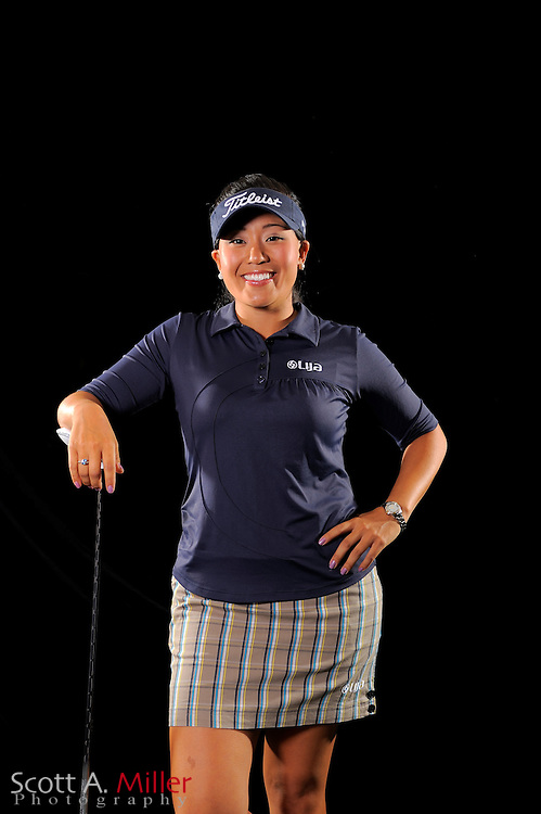 Jenny Suh during a portrait shoot prior to the LPGA Future Tour's Daytona Beach Invitational at LPGA International's Championship Courser on March 28, 2011 in Daytona Beach, Florida... ©2011 Scott A. Miller