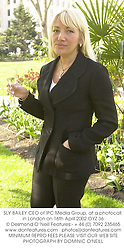 SLY BAILEY CEO of IPC Media Group, at a photocall in London on 16th April 2002.OYZ 36