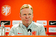 ZEIST - Press conference of Dutch headcoach Ronald Koeman before friendly game Netherlands vs Peru, Zeist, TheNetherlands   copyright robin utrecht