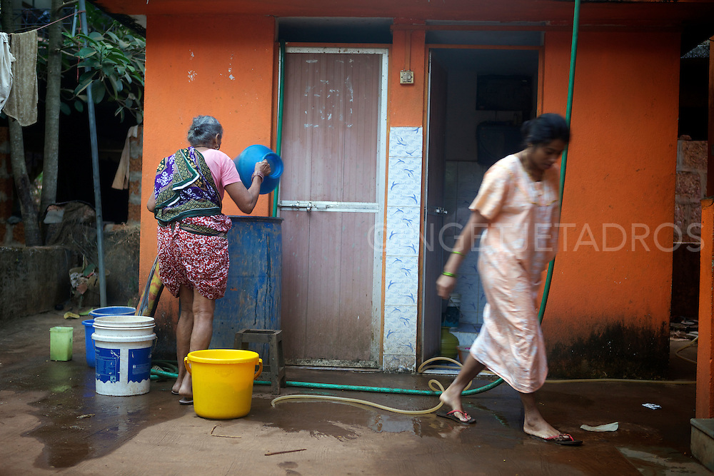 Once a sleepy fishing village called Harmal, Arambol Beach has become the newest hippie haven for Goa's freaks, but the locals still continue to do their daily chores and have somehow addepted to this big change.<br /> &copy;Ingetje Tadros
