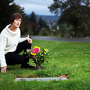 Gloria Black's mother, Clara Marshall, who suffered from dementia, died after getting caught in the rails attached to her bed. Gloria Black, visiting her mother's gravesite at Riverview Cemetery in Portland, Ore., has become a crusader against the type of bed rail that has caused the deaths of her mother and dozens of others.