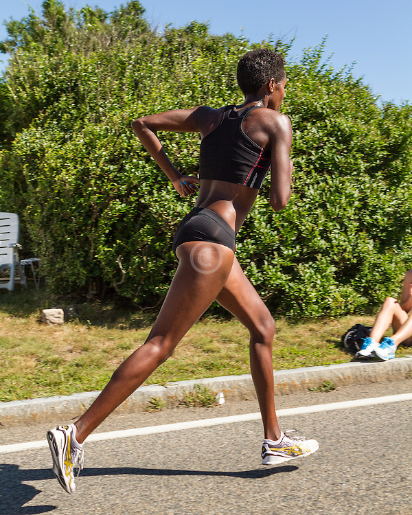 41st Falmouth Road Race: Diane Nukuri-Johnson