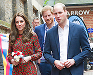KATE, Princes William & Harry At The Mix