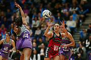 Erikana Pedersen of the Tactix in action. 2017 ANZ Premiership netball match, Northern Stars v Mainland Tactix at the Vodafone Events Centre, Auckland, New Zealand. 4 June 2017 © Copyright Photo: Anthony Au-Yeung / www.photosport.nz
