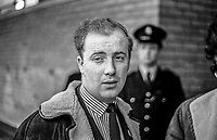 Ivan Cooper, chairman, Derry Citizen's Action Committee, Londonderry, N ireland, January, 1969, 196901009435<br /> <br /> Copyright Image from Victor Patterson, 54 Dorchester Park, <br /> Belfast, UK, BT9 6RJ<br /> <br /> t1: +44 28 9066 1296 (from Rep of Ireland 048 9066 1296)<br /> t2: +44 28 9002 2446 (from Rep of Ireland 048 9002 2446)<br /> m: +44 7802 353836<br /> <br /> e1: victorpatterson@me.com<br /> e2: victorpatterson@gmail.com<br /> <br /> www.victorpatterson.com<br /> <br /> Please see my Terms and Conditions of Use at VICTORPATTERSON.COM. It is IMPORTANT that you familiarise yourself with them.<br /> <br /> Images used on the Internet must be visibly watermarked i.e. ©VICTORPATTERSON.COM within the body of the image and copyright metadata must not be deleted. Images used on the Internet have a size restriction of 4kbs and are chargeable at the then current NUJ rates.<br /> <br /> This image is only available for the use of the download recipient i.e. television station, newspaper, magazine, book publisher, etc, and must not be passed on to any third party. It is also downloaded on condition that each and every usage is notified within 7 days to victorpatterson@me.com<br /> <br /> The right of Victor Patterson to be identified as the author is asserted in accordance with The Copyright Designs And Patents Act (1988).