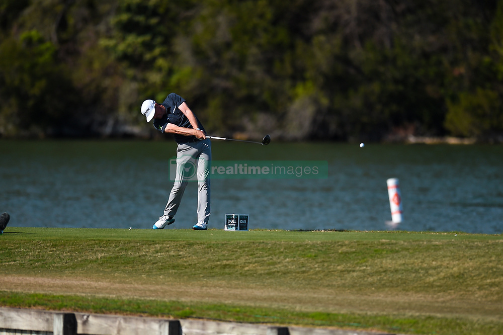 March 21, 2018 - Austin, TX, U.S. - AUSTIN, TX - MARCH 21: Keegan Bradley hits a tee shot during the First Round of the WGC-Dell Technologies Match Play on March 21, 2018 at Austin Country Club in Austin, TX. (Photo by Daniel Dunn/Icon Sportswire) (Credit Image: © Daniel Dunn/Icon SMI via ZUMA Press)