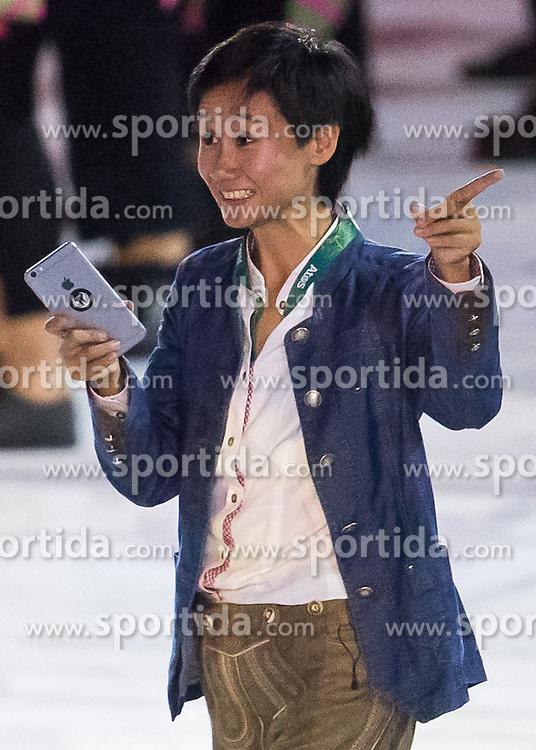 05.08.2016, Maracana, Rio de Janeiro, BRA, Rio 2016, Olympische Sommerspiele, Eröffnung der XXXI. Olympiade, im Bild Fahnenträgerin Liu Jia (AUT, Tischtennis) // Flag bearer Liu Jia of Austria (table tennis) during the Opening Ceremony of the Rio XXXI 2016 Olympic Summer Games at the Maracana in Rio de Janeiro, Brazil on 2016/08/05. EXPA Pictures © 2016, PhotoCredit: EXPA/ Johann Groder