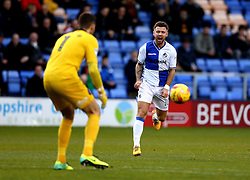 Matt Taylor of Bristol Rovers looks frustrated as a through ball is collected by Jayson Leutwiler of Shrewsbury Town - Mandatory by-line: Robbie Stephenson/JMP - 17/12/2016 - FOOTBALL - Greenhous Meadow - Shrewsbury, England - Shrewsbury Town v Bristol Rovers - Sky Bet League One